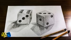 Loaded Dice 3D +Video by lapis-lazuri