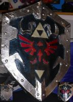 Dark Links Shield by EndoChan