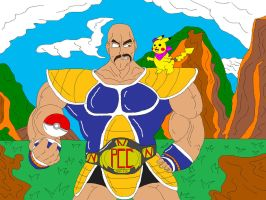 Nappa and Pika by McGreger16