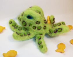 Spotted Octopus by StCoraline
