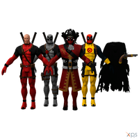 MH - Deadpool Pack II by Postmortacum