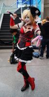 NYCC'14 Harley Quinn by zer0guard