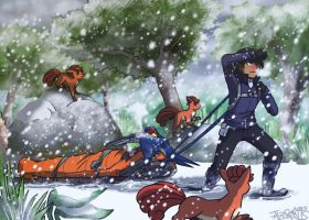 Snow Rescue by tazsaints