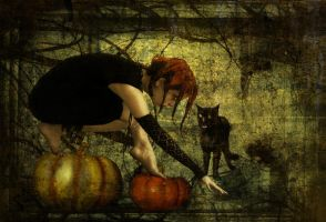 The Pumpkin Crawler by invisibly-touched