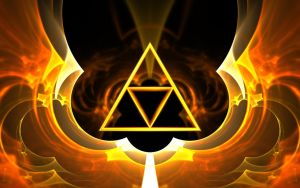 Fractal Triforce by Magnebula