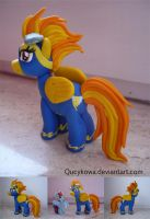 MLP Spitfire FIMO by Qucykowa