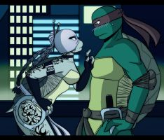 .:TMNT Youve got some nerve:. by Dawnrie