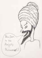 Beavis, the Almighty Muhammad by vincent-h-nguyen