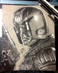 Judge Dredd by ZombieKaiju