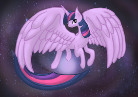 Alicorn Twilight Sparkle by Nachturia
