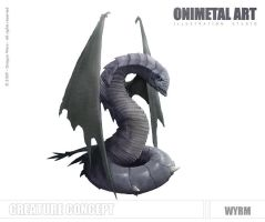 Dragon Wars - Wyrm by Onimetal