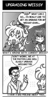 4koma 'UpgradingWeissy' 01 by hucky008