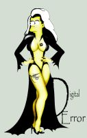 Goth Marge Simpson by DigitalError
