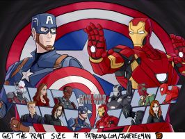 Captain America Civil War The Game by JonFreeman