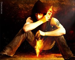 The Flaming Assassin by demolibium