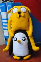 Jake and Gunter by JoylessJoyce