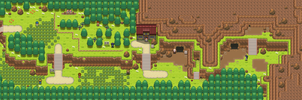Route 116 remake by Pokemon-Diamond