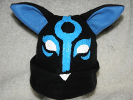 black n' blue okami hat by neodragonarts