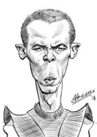 Game of Thrones Caricature: Greyworm by ngreene