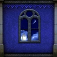 Night window by indigodeep
