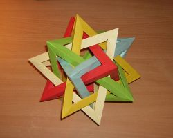 5x tetrahedron dodecahedron by Adkit