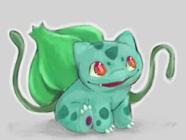 Bulbasaur #001 by Tabbytooner