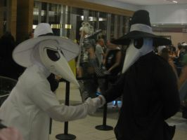 Dragon*Con 2012 Spy vs. Spy cosplay by andy593