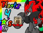 Thanks for the favorites! =D by XynaTheZoroark