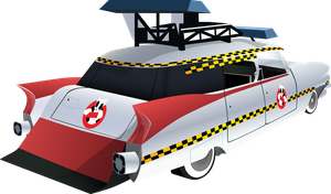 Ecto-B(?) | Pony Ghostbusters | Right Rear by DaAfroMan
