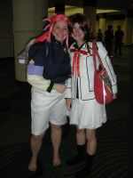 Megacon 09: Washu and Yuuki by Rose-Vicious