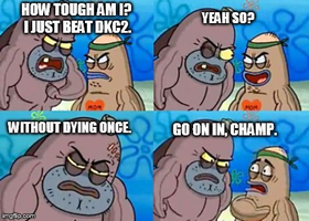 How Tough Am I? #1 by TheWolfBunny