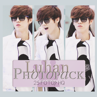 Photopack Luhan - EXO 015 by DiamondPhotopacks