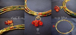 Egyptian style by Tuile-jewellery