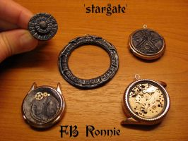 Stargate inspired jewelry by fbronnie