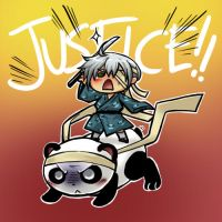 SDL Crack: Justice and Pandas by ryuuen