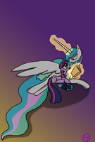 Celestial Storytime by Ninetailsofawesome
