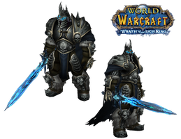 WoW Lich King Cut Out by atagene