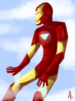 iron man by alalampone
