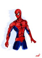 Spider-man Remake done by penzoom MXD by Penzoom
