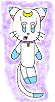 Aynur the 'Cat' Spirit by angelthewingedcat