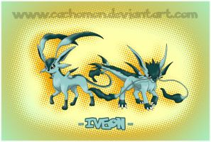 Eeveelution: Iveon by Cachomon