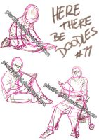 Here there be doodles #11 by PlastikLoeffel