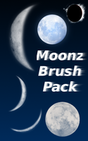 Moonz -Brushes- by RadiantStar4