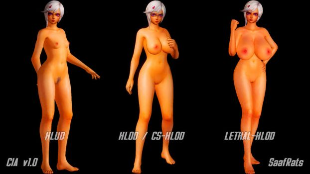 CIA's HLOD sizes [DOA5LR] by SaafRats