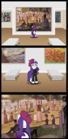 Rarity's Day Off by Niban-Destikim