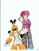 Me and Metabee by LittleMissSkuld