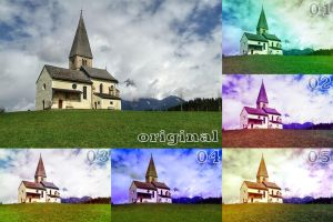Color Play Photoshop Action Set (Set 04) by SnapShot120