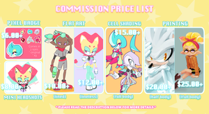 Commission Price List by SailingScum