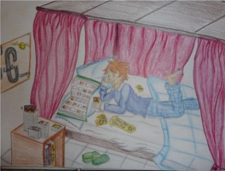 Ron's Secret Obsession by maraudeuse