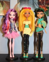 Monster High trio by rainbow1977